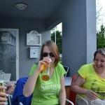 Staefanie schmeckt das Bierchen