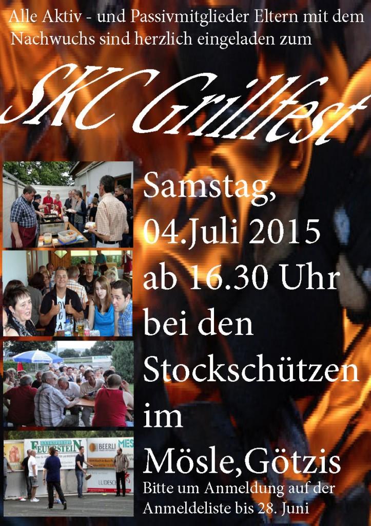 SKC Grillfest 2015